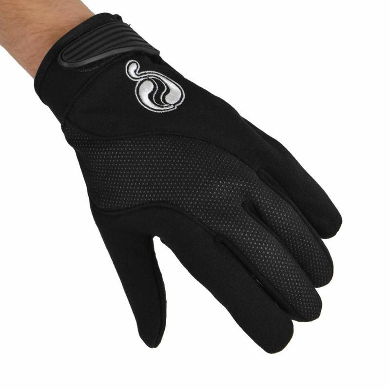 Handschoenen klittenband Zwart