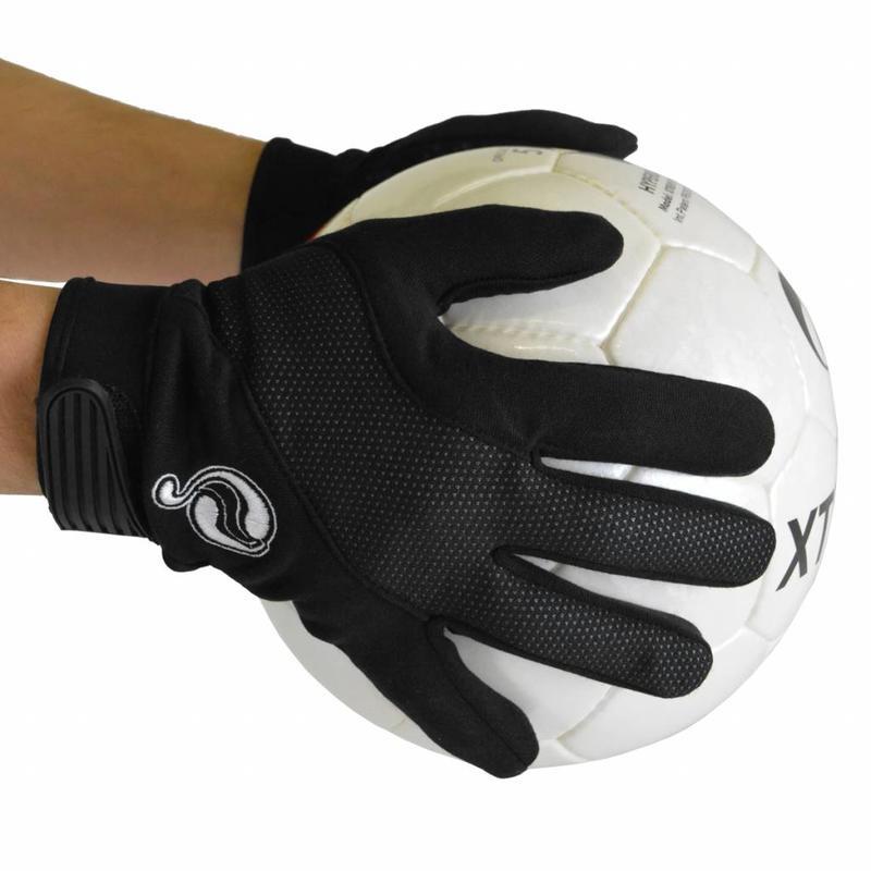 Q1905 Handschoenen klittenband Zwart