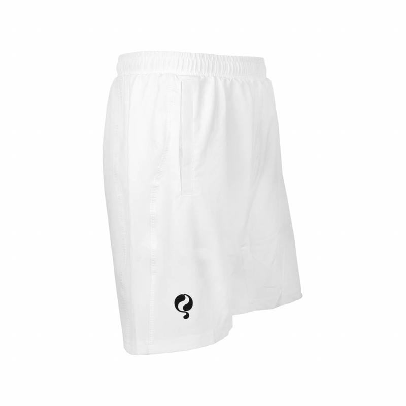 Q1905 Heren Short Verga Wit / Zwart