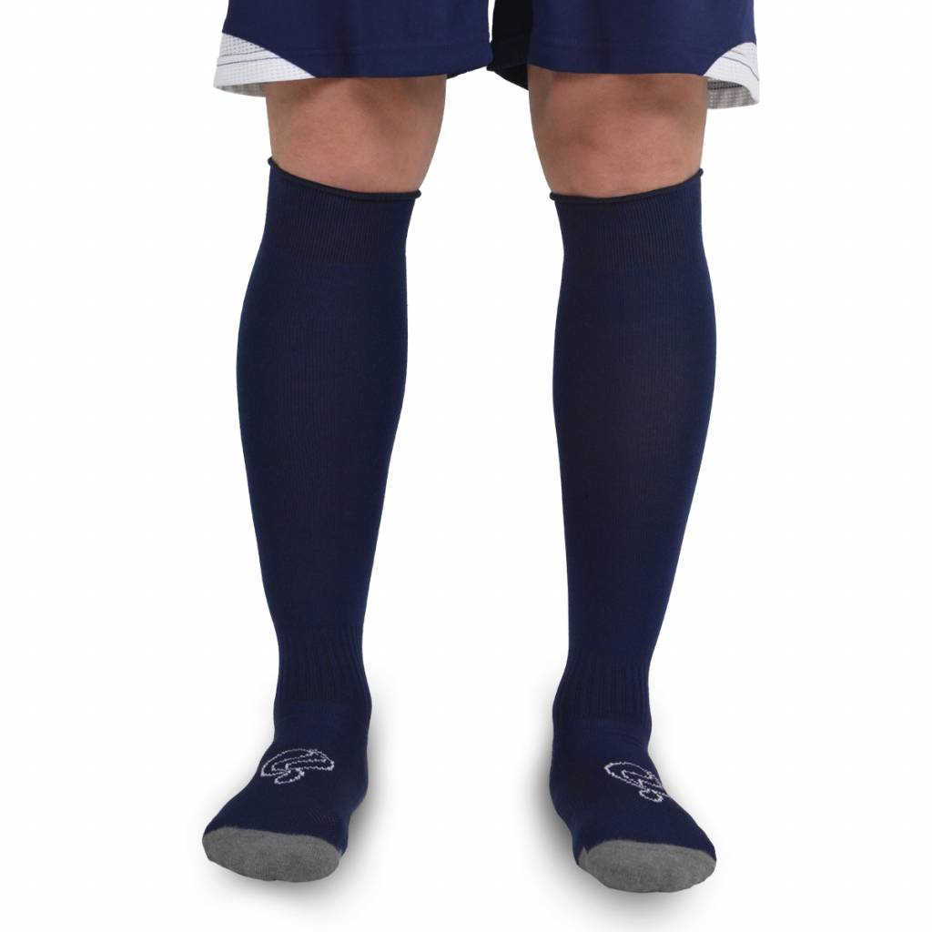 Heren Kousen Pitch Navy / Wit