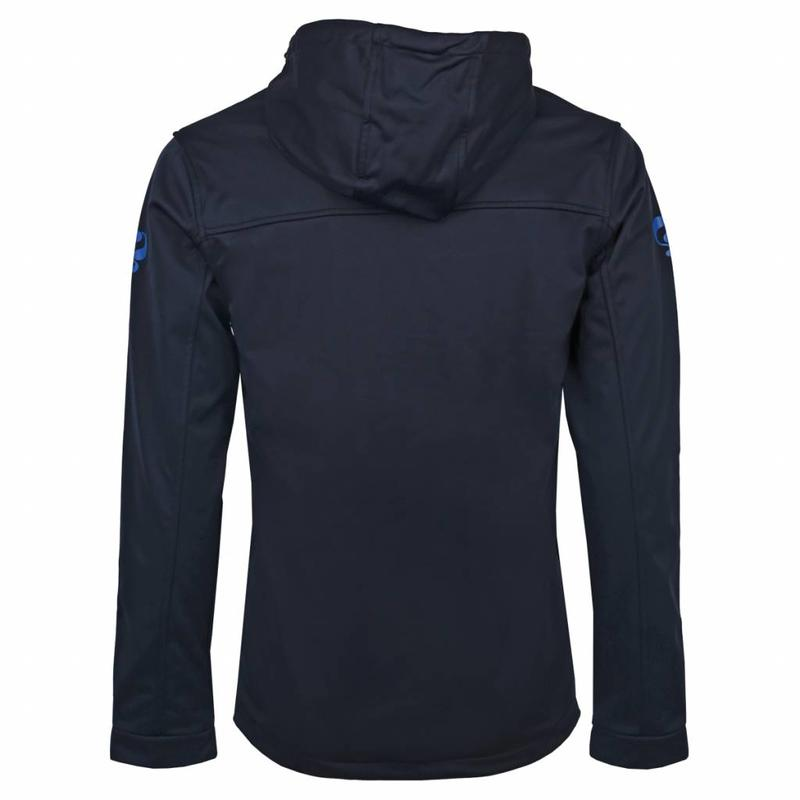 Q1905 Heren Jas Stengs Navy / Blauw