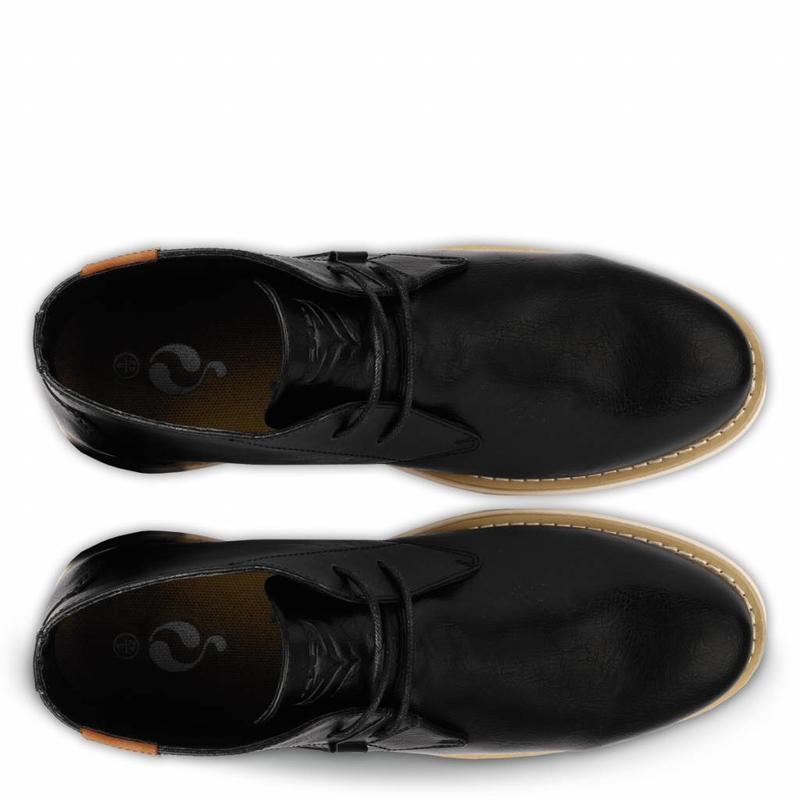 Q1905 Heren Schoen Monza Black