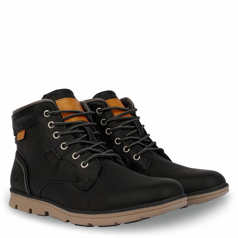 Q1905 Men's Shoe Bronson Black / Dk Grey