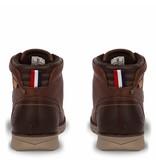 Q1905 Heren Schoen Bronson Cognac / Dk Brown