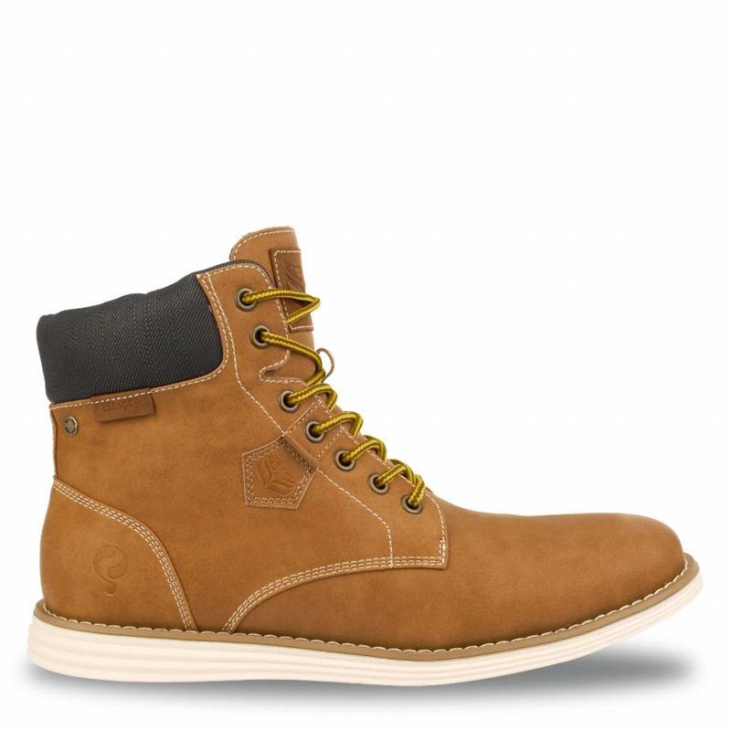 Men's Shoe Cauberg Honey / Dk Brown