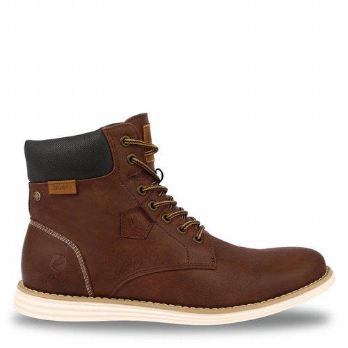 Men's Shoe Cauberg Cognac / Dk Brown