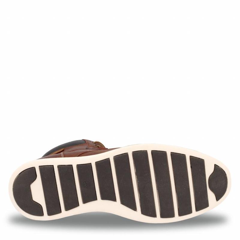 Q1905 Men's Shoe Cauberg Cognac / Dk Brown