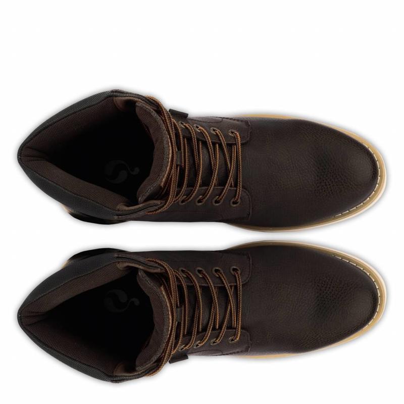 Men's Shoe Cauberg Dk Brown