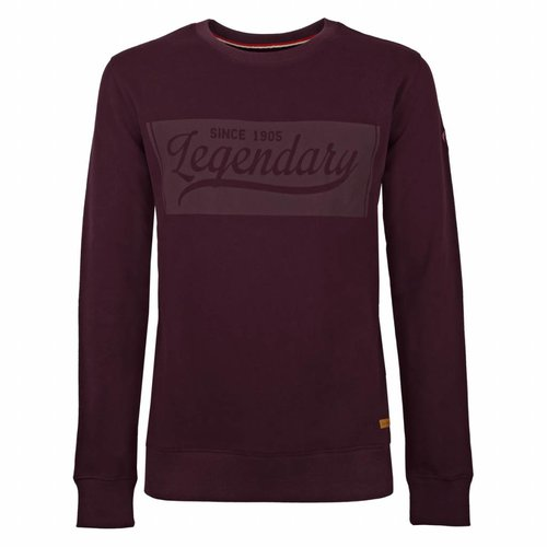 Heren Sweater Doesburg Burgundy