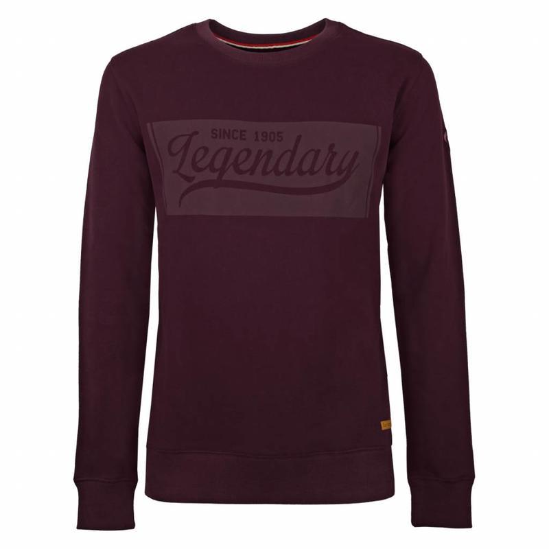 Men's Sweater Doesburg Burgundy