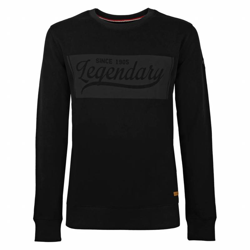 Q1905 Heren Sweater Doesburg Black