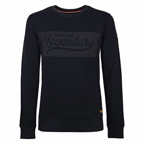 Heren Sweater Doesburg Deep Navy