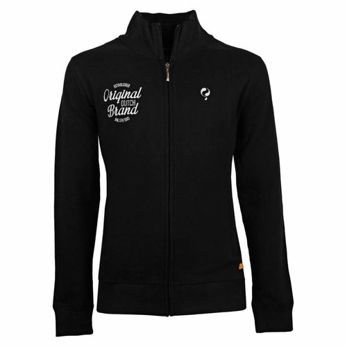 Heren Sweat Vest Oosterhout Black