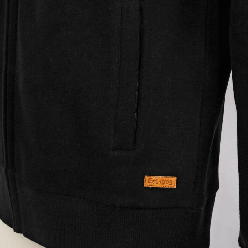 Heren Sweat Vest Oosterhout Black