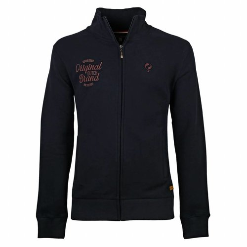 Heren Sweat Vest Oosterhout Deep Navy