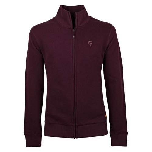 Heren Sweat Vest Doetinchem Burgundy
