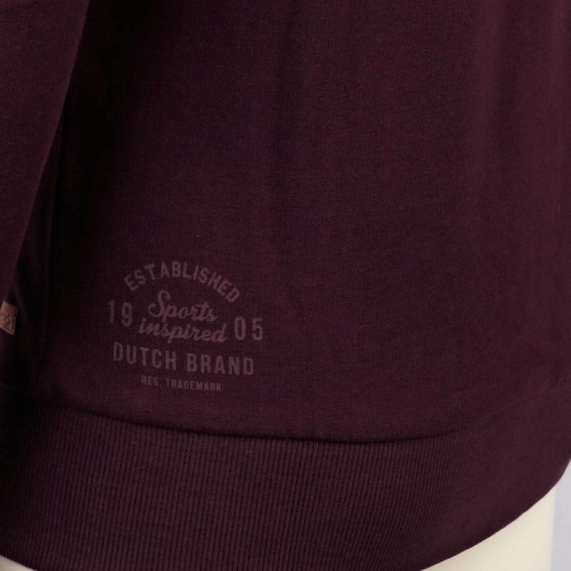 Q1905 Heren Sweat Vest Doetinchem Burgundy