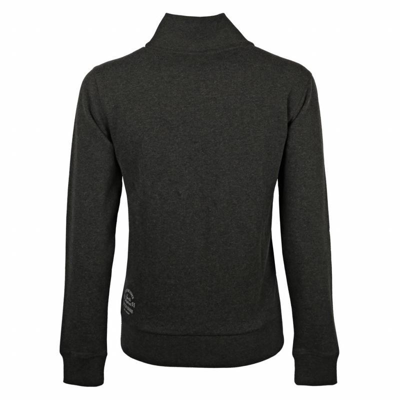 Q1905 Men's Sweat Vest Doetinchem Dk Grey Melange