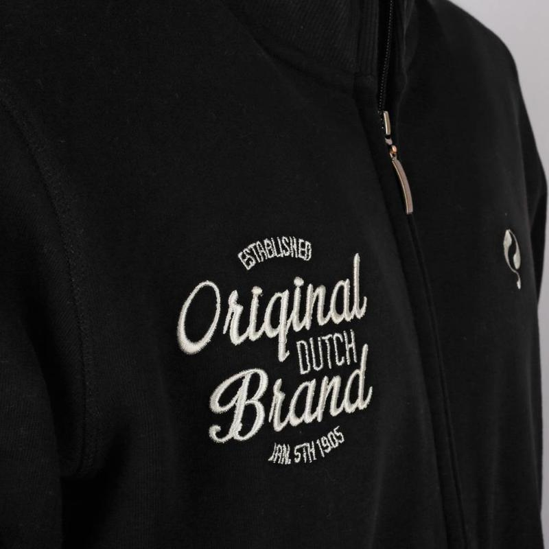 Q1905 Heren Sweat Vest Oosterhout Black
