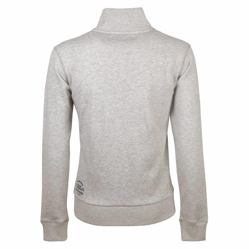 Q1905 Heren Sweat Vest Oosterhout Lt Grey Melange