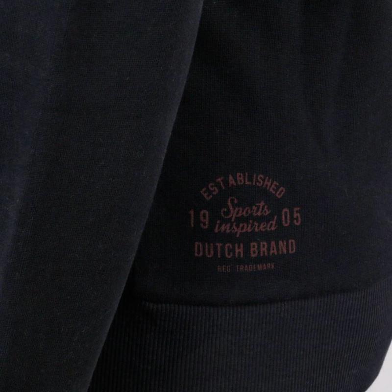 Q1905 Heren Sweat Vest Oosterhout Deep Navy