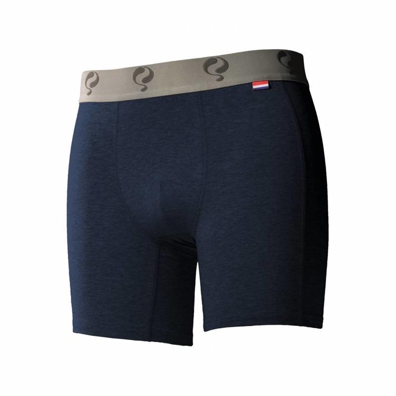 Heren Boxer 2-Pack  -  Jeans / Navy