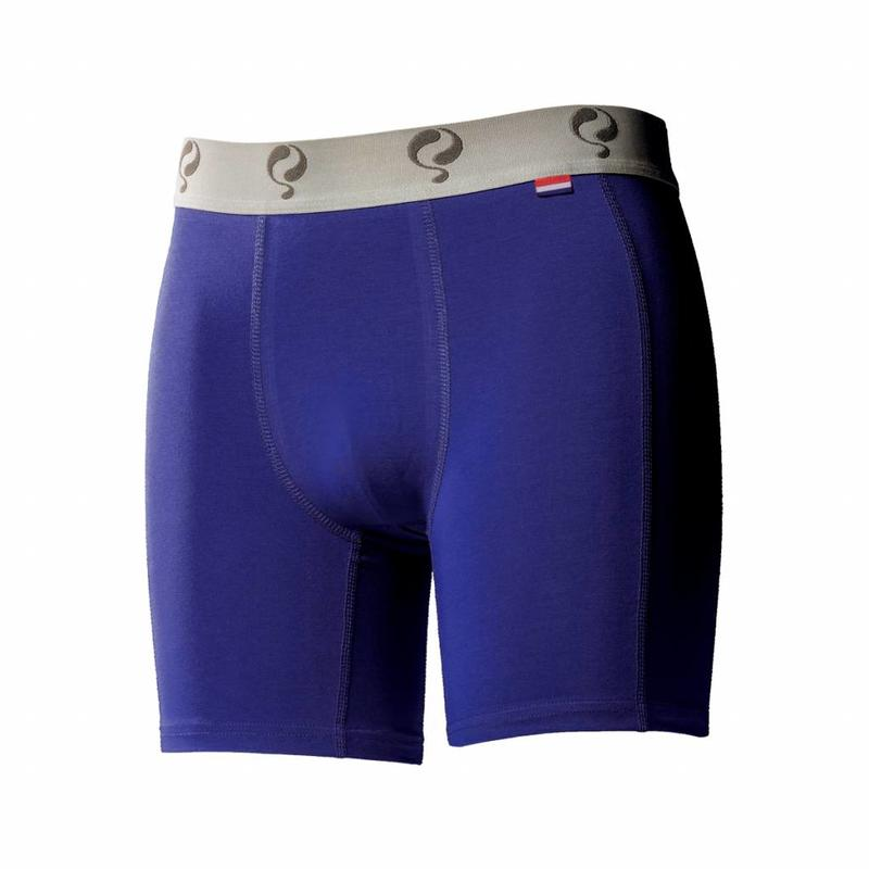 Q1905 Heren Boxer 2-Pack  -  Blue / Red