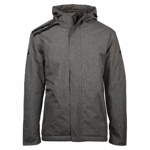Men's Winter Jacket Jans Grey / Black