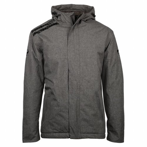 Men's Winter Jacket Jans Grey / Black