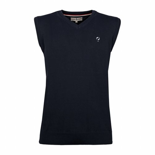 Heren Spencer V-neck Hampton Deep Navy