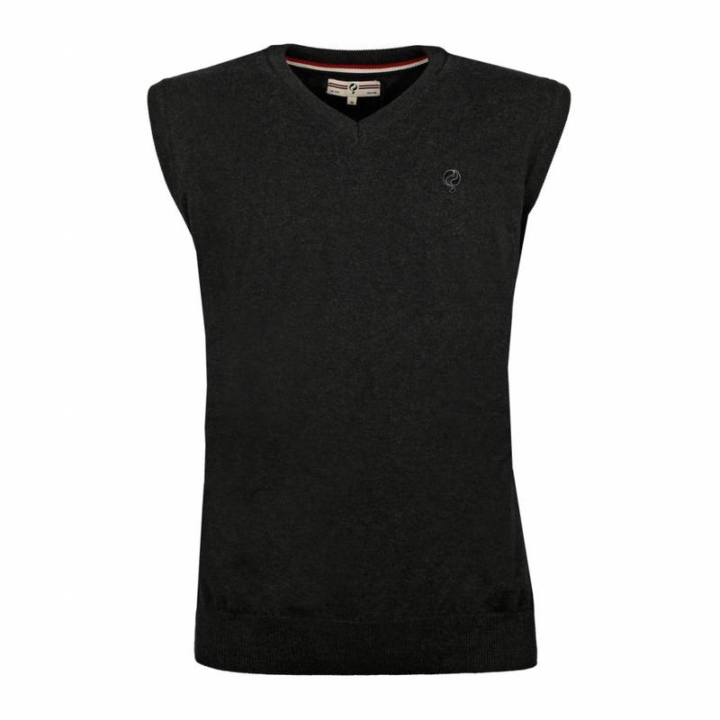Q1905 Heren Spencer V-neck Hampton Antracite