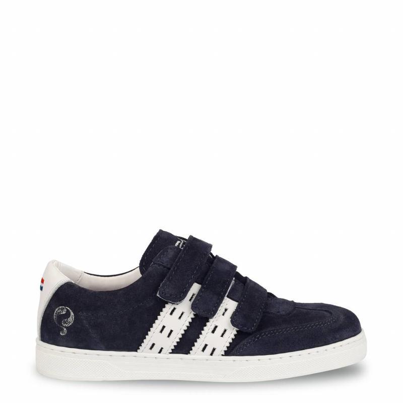 Q1905 Kids Sneaker Legend '69 JR Velcro Deep Navy / White