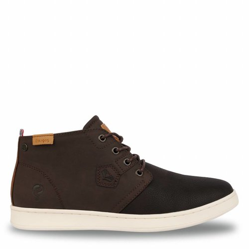 Men's Shoe Valkenburg Dk Brown