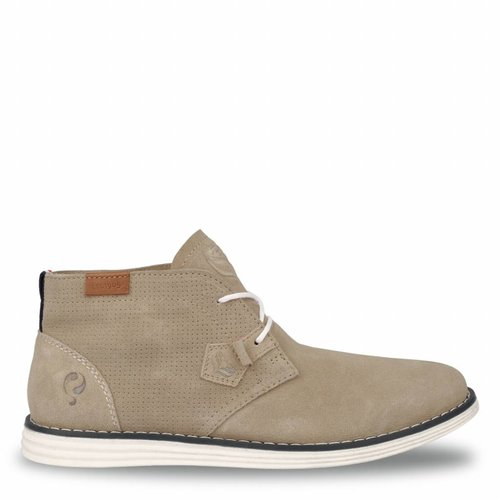 Men's Shoe Wassenaar - Taupe/Crème