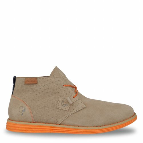 Men's Shoe Wassenaar - Taupe/Orange
