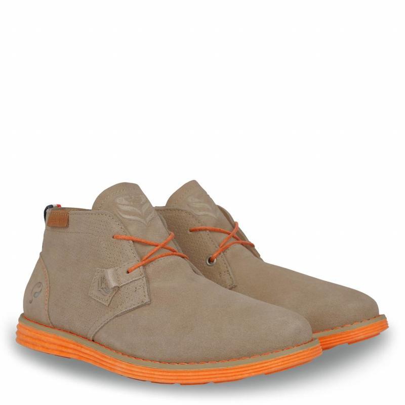 Q1905 Men's Shoe Wassenaar - Taupe/Orange