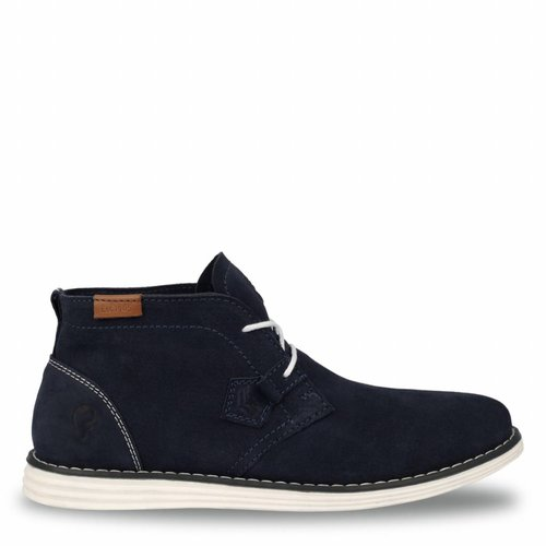 Men's Shoe Wassenaar - Dark Blue/Crème