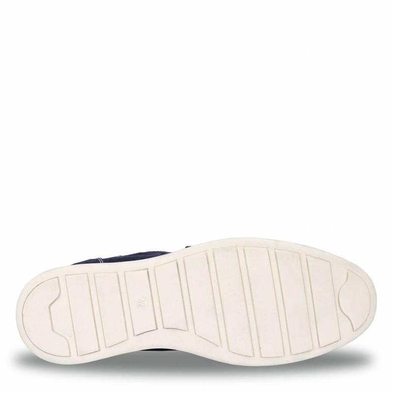 Q1905 Men's Shoe Wassenaar - Dark Blue/Crème