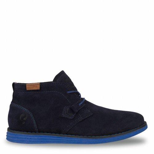 Heren Schoen Wassenaar - Donkerblauw/Hard Blauw