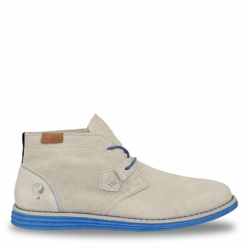 Men's Shoe Wassenaar - Light Grey/Hard Blue