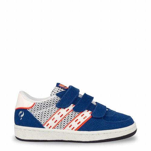 Kids Sneaker Maurissen JR Velcro  -  Ice/Skydiver/White ( 26-35 )