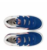 Q1905 Kids Sneaker Maurissen JR Velcro  -  Ice/Skydiver/White ( 26-35 )