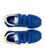 Q1905 Kids Sneaker Cycloon JR Velcro  -  Skydiver/White ( 36-39 )