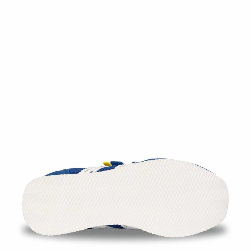 Q1905 Kids Sneaker Cycloon JR Velcro  -  Skydiver/White ( 26-35 )