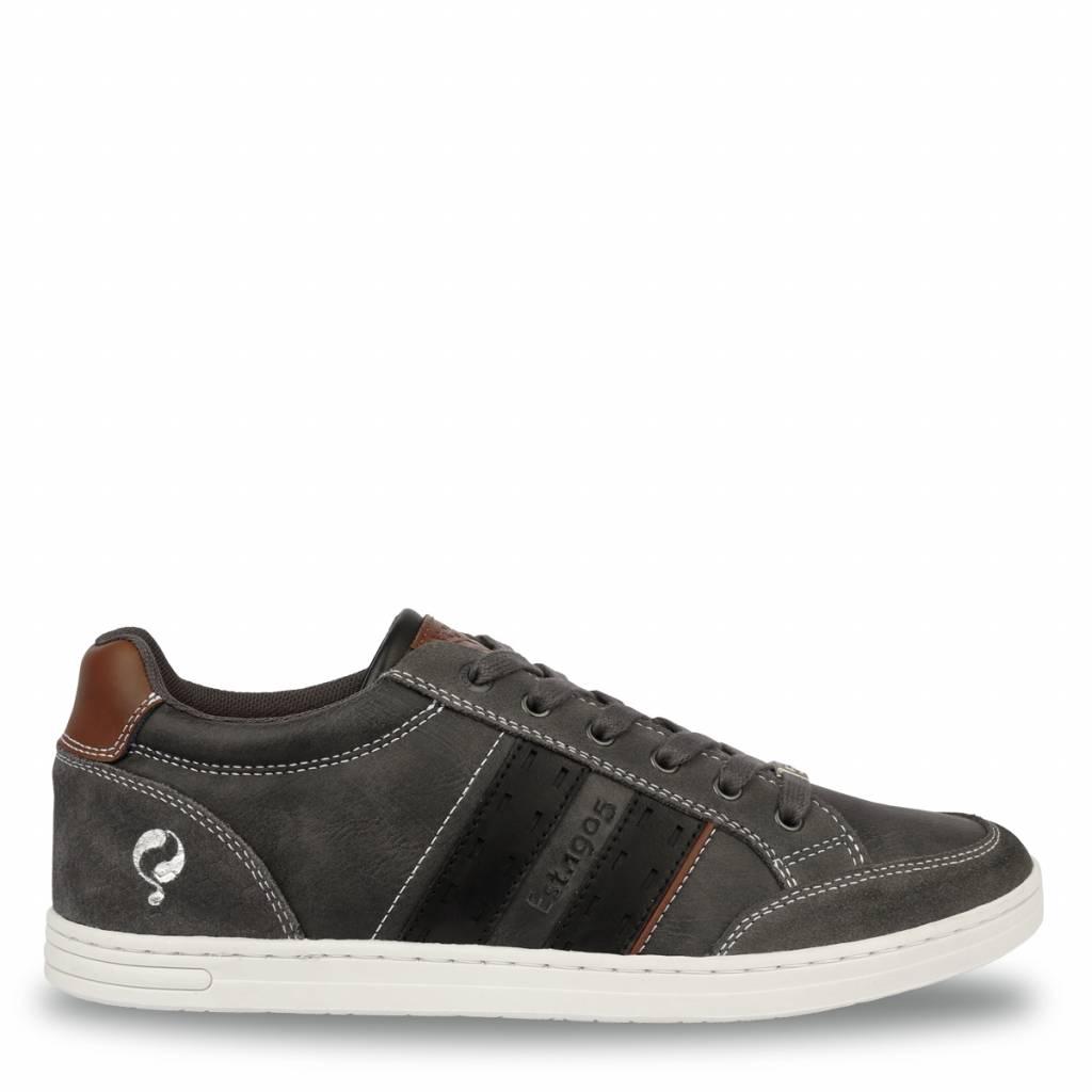 Q1905 Heren Sneaker Brody Dk Grey - Black