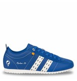 Q1905 Heren Sneaker Typhoon Sp  -  Hard Blauw/Wit