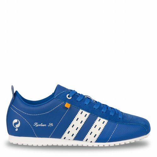 Heren Sneaker Typhoon Sp  -  Hard Blauw/Wit
