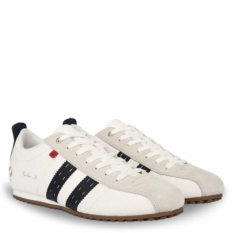 Q1905 Heren Sneaker Typhoon Sp  -  Crème/Donkerblauw