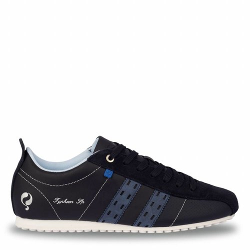Heren Sneaker Typhoon Sp  -  Donkerblauw/Denim blauw