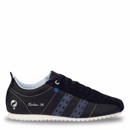 Heren Sneaker Typhoon Sp  -  Donkerblauw/Denim blauw
